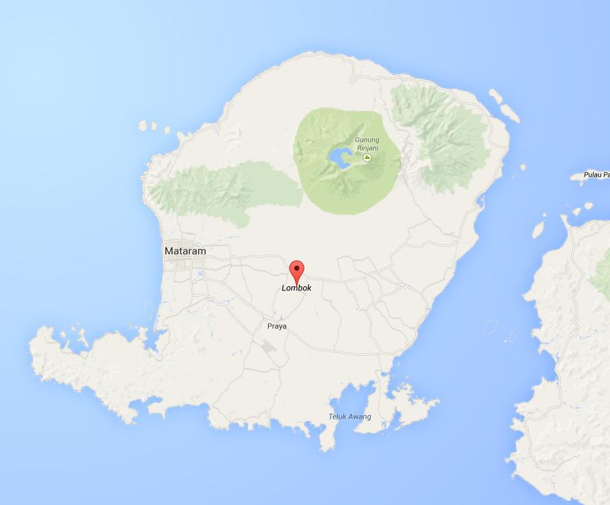 carte de lombok