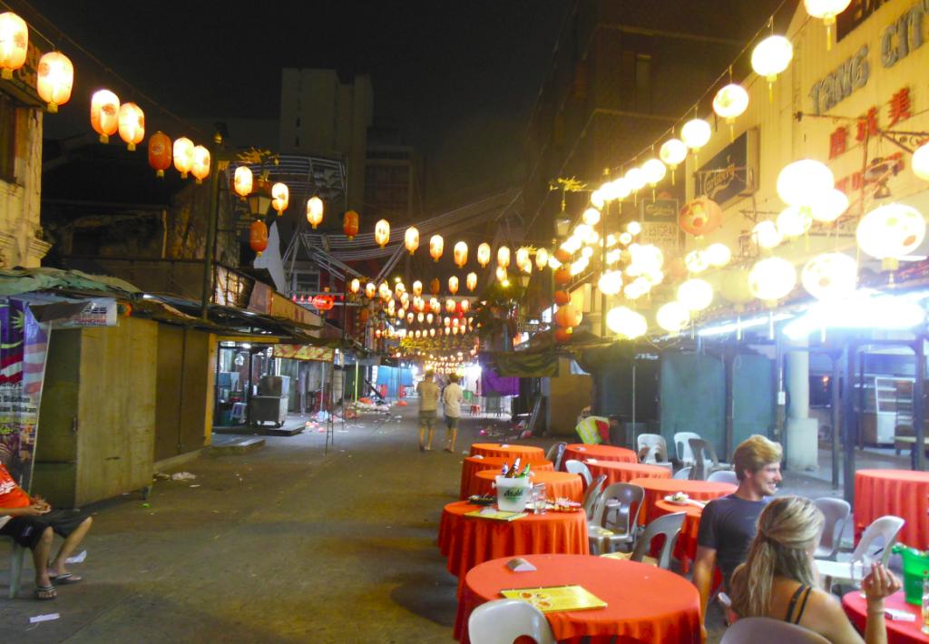 chinatown de nuit