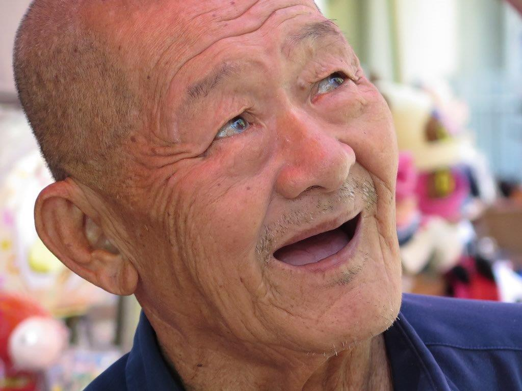 J'adore les visages  des vieilles personnes