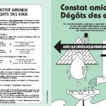 Formulaire de dégât des eaux