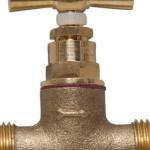 un robinet d'arrêt